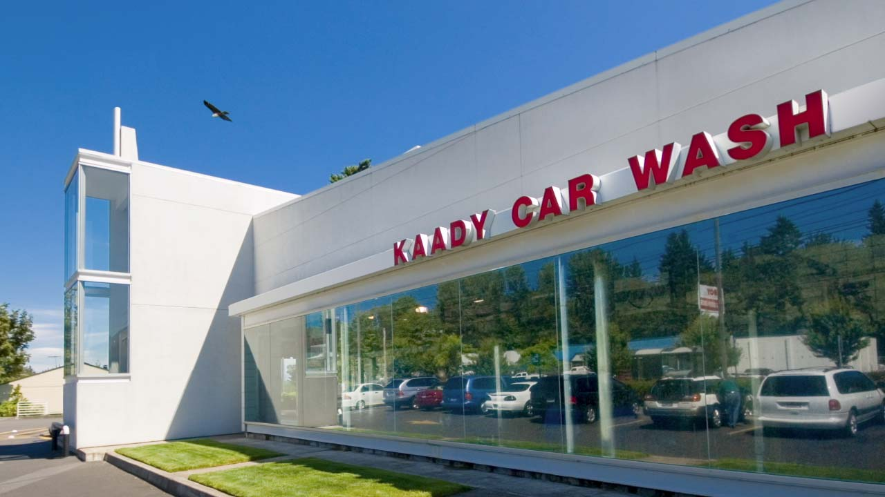 Kaady Car Washes logo